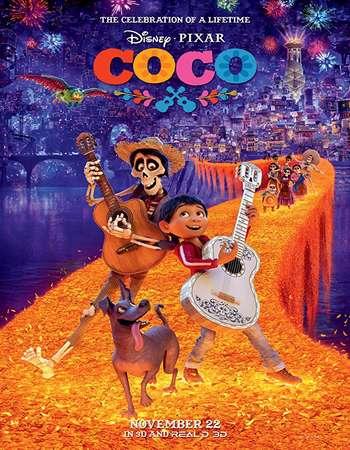 Coco (2017) 720p BluRay x264 [Dual-Audio][Hindi 5 1 - English 5 1] ESubs - Downloadhub