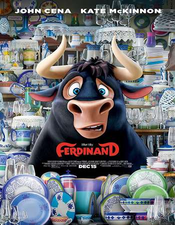 Ferdinand (2017) 720p BluRay x264 [Dual-Audio][Hindi 5 1 - English 5 1] ESubs - Downloadhub