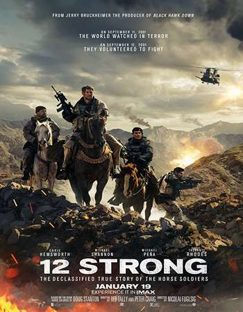 12 Strong (2018) 700MB HDCAM x264 AAC - Downloadhub