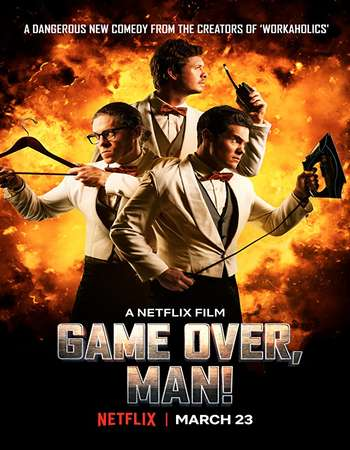 Download Game Over Man (2018) 720p WEBRip x264 AAC ESubs - hub Torrent
