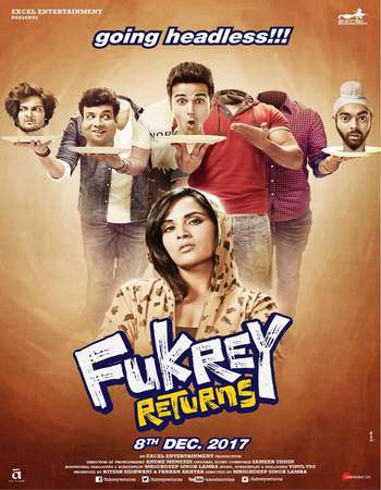 Fukrey Returns (2017) Hindi 720p HDRIp x264 AAC - Downloadhub