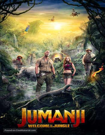 Jumanji Welcome to the Jungle (2017) 720p BluRay x264 [Dual-Audio][Hindi 5 1 - English 5 1] ESubs - Downloadhub