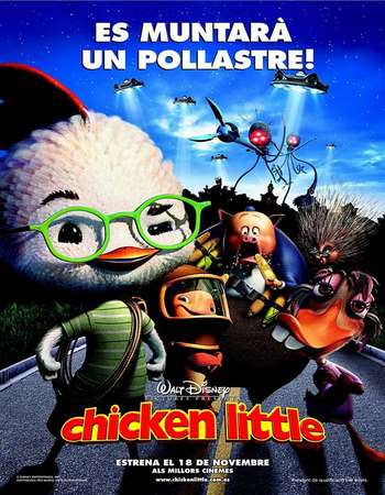 Chicken Little 2005 Hindi Dual Audio BRRip Full Movie Download