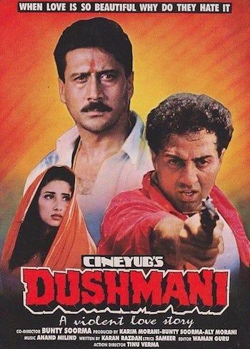 Dushmani A Violent Love Story 1995 Hindi 480p WEB-DL 450MB