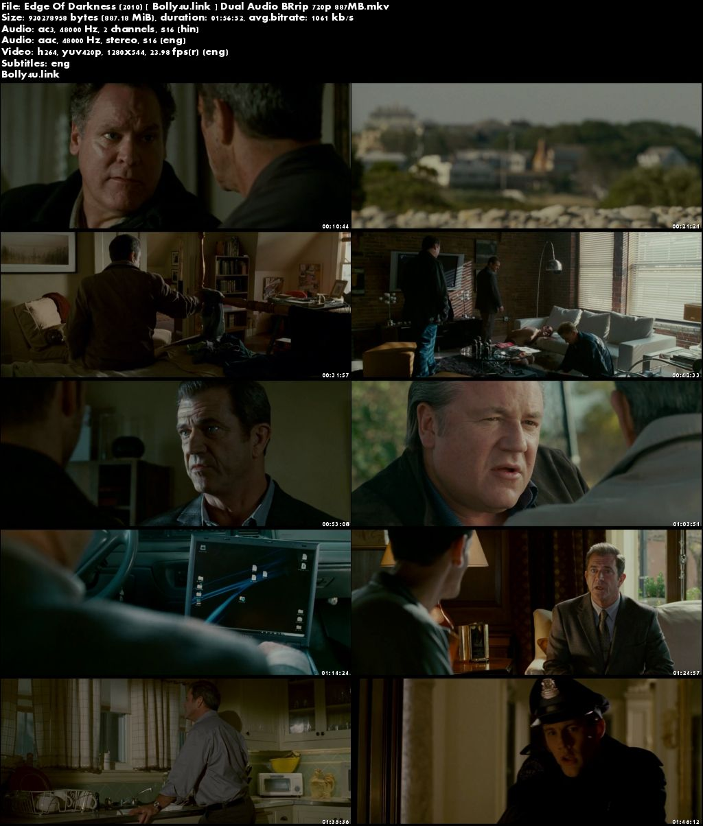 Edge Of Darkness 2010 BRRip 400Mb Hindi Dual Audio 480p Download