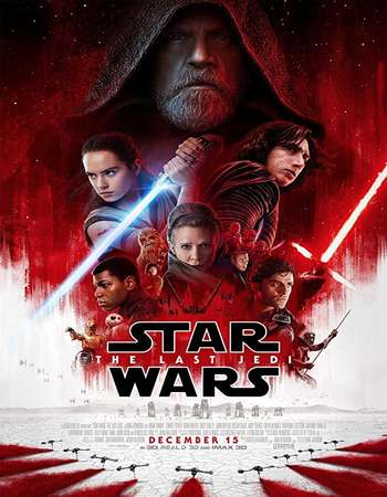 Star Wars The Last Jedi 2017 Dual Audio 720p BluRay ORG [Hindi - English] ESubs