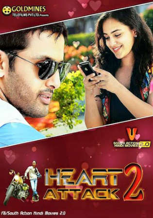 Heart Attack 2 2018 HDRip 850Mb Hindi Dubbed 720p