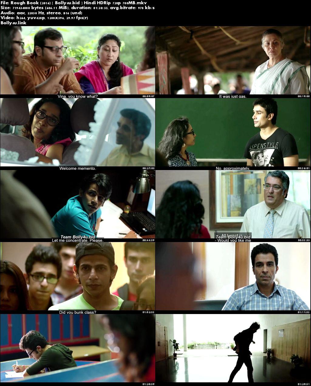 Rough Book 2016 HDRip 300MB Full Hindi Movie Download 480p