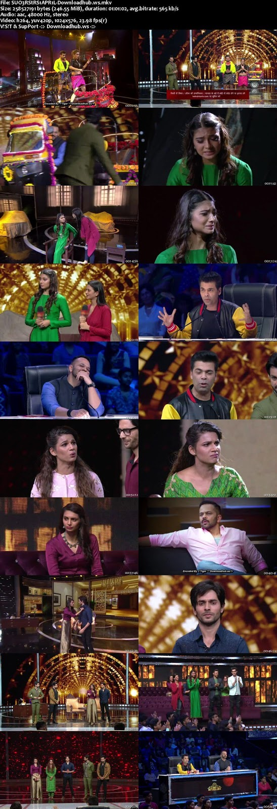 India's Next Superstars 01 April 2018 Semi Finals Episode HDTV 480p