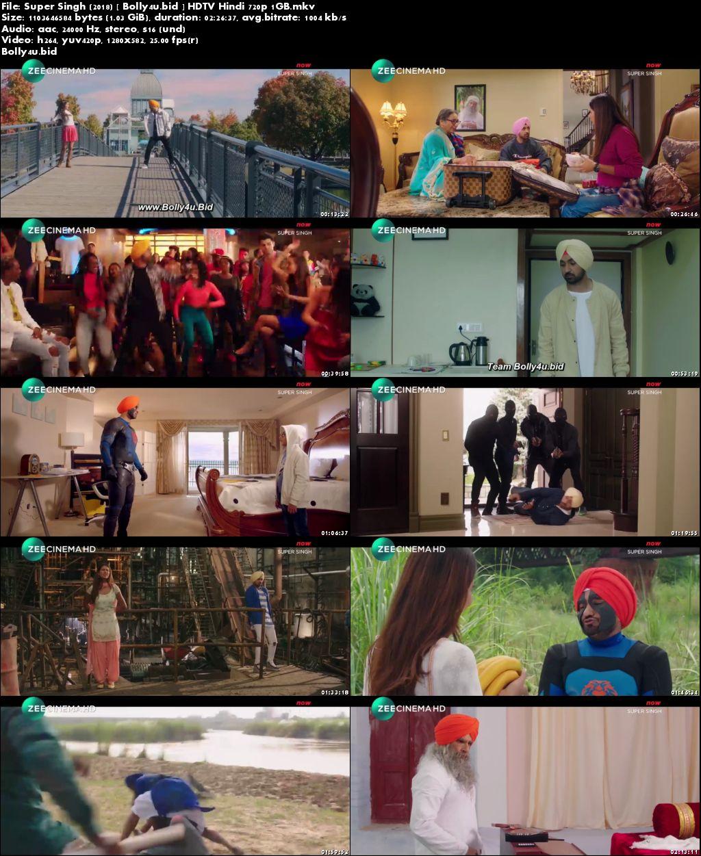 Super Singh 2018 HDTV 400MB Full Hindi Movie Download 480p