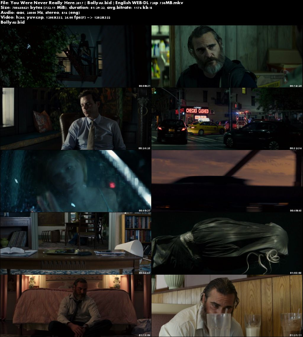 You Were Never Really Here 2017 WEB-DL 280MB English 480p Download