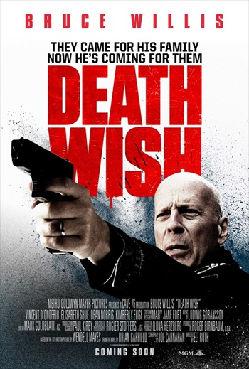 Death Wish 2018 Latest Movie Dual Audio Hindi 480p HDTS 300mb