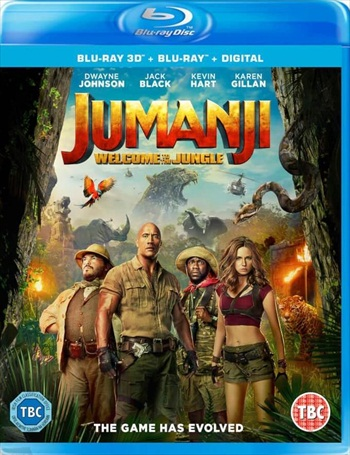Jumanji Welcome To The Jungle 2017 Dual Audio ORG Hindi 720p BluRay 950mb