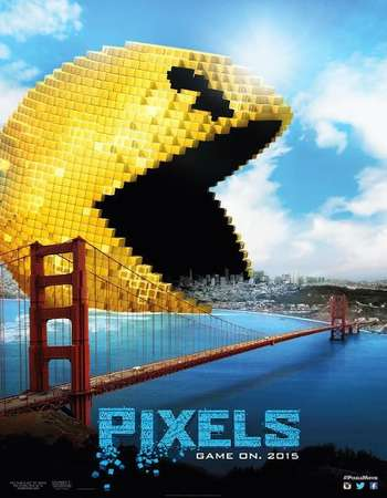 Pixels 2015 Hindi Dual Audio 450MB BluRay 720p ESubs HEVC