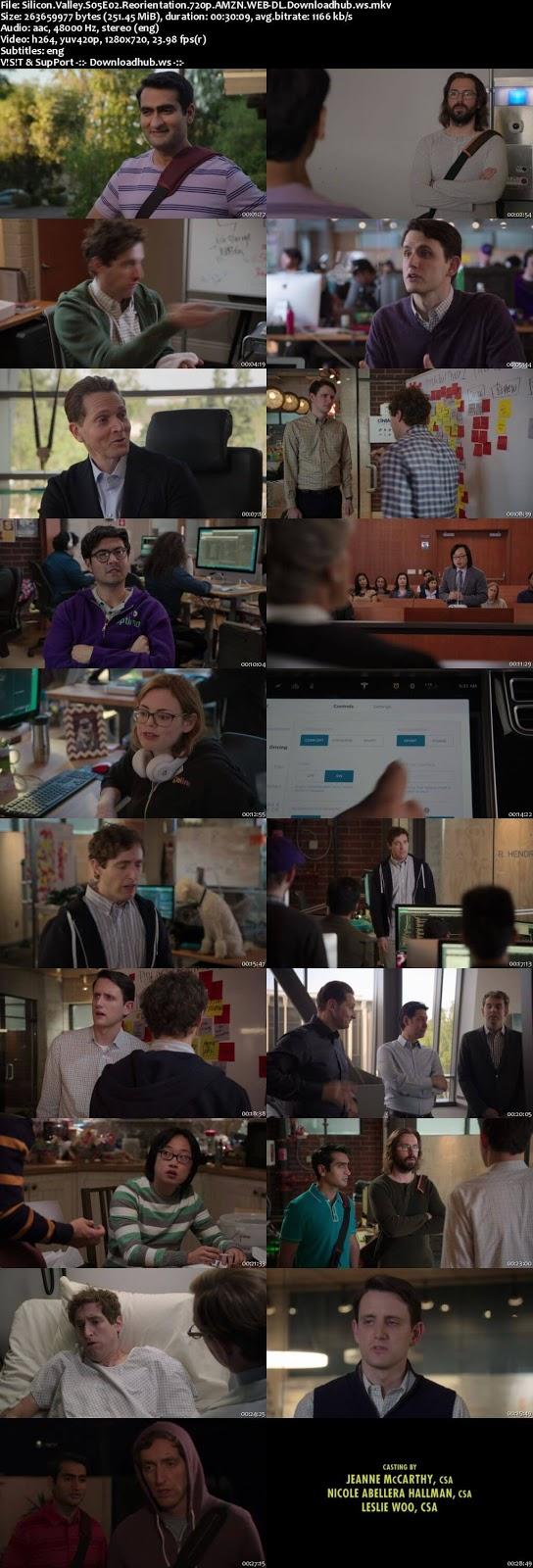 Silicon Valley S05E02 250MB WEBRip 720p x264