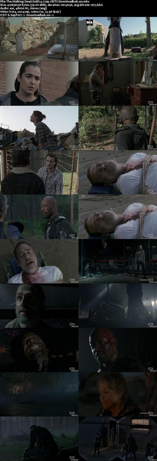 The Walking Dead S08E14 390MB HDTV 720p x264