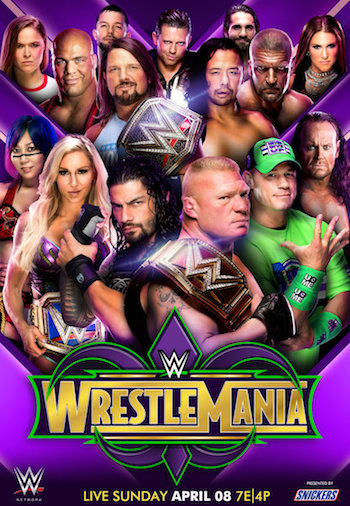 WWE WrestleMania 34 2018 Full Show Download