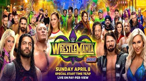 WWE WrestleMania 34 8th April 2018 Full Show Free Download