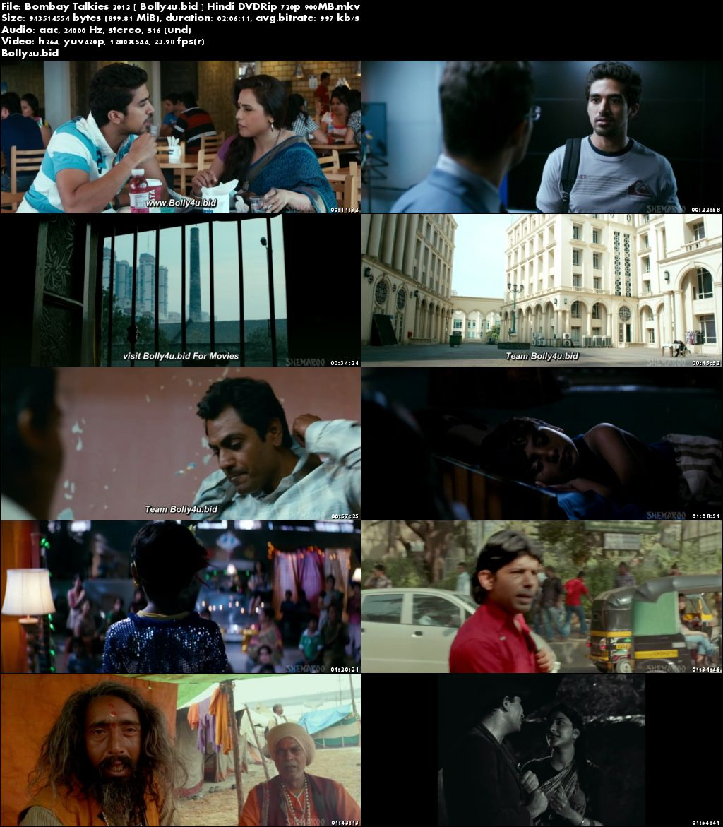 Bombay Talkies 2013 DVDRip 350Mb Full Hindi Movie Download 480p
