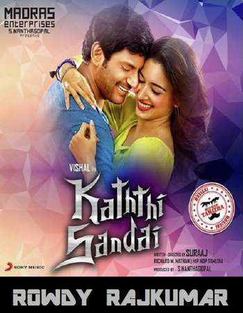 Kaththi Sandai 2016 Hindi Dual Audio 650MB UNCUT HDRip 720p HEVC