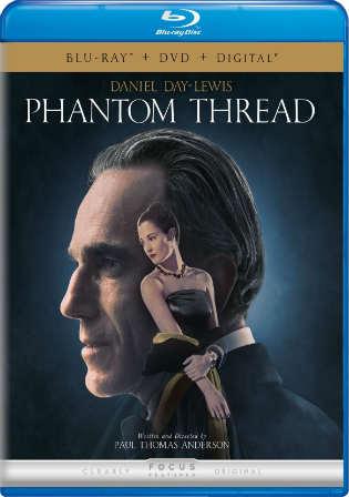 Phantom Thread 2017 BRRip 720p English ESub Watch Online Full Movie Download bolly4u
