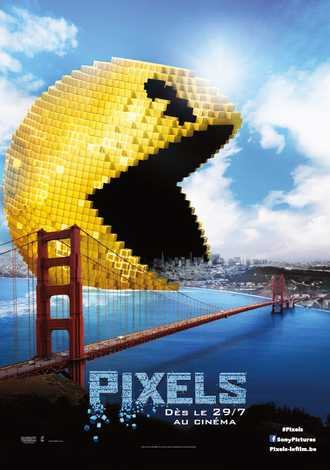 Pixels 2015 Dual Audio Hindi Bluray Movie Download
