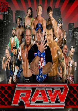WWE Monday Night Raw HDTV 480p 400MB 09 April 2018 Watch Online Free Download bolly4u