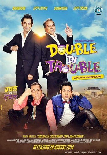 Double Di Trouble 2014 Punjabi 720p HDRip 800mb