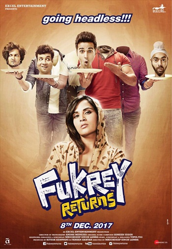 Fukrey Returns 2017 Hindi Movie Download