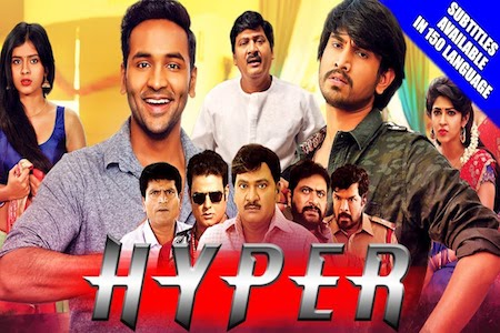 Hyper 2018 Latest Movie Hindi Dubbed 720p HDRip 800mb