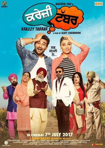 Krazzy Tabbar 2017 Punjabi Movie Download