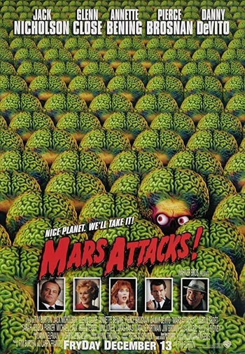 Mars Attacks 1996 Dual Audio Hindi 300mb Movie Download