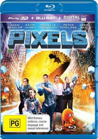 Pixels 2015 BluRay 350MB Hindi Dual Audio 480p Watch Online Full movie Download Worldfree4u 9xmovies