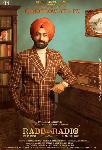 Rabb Da Radio (2017) Punjabi Movie 480p HDRip x264 350MB