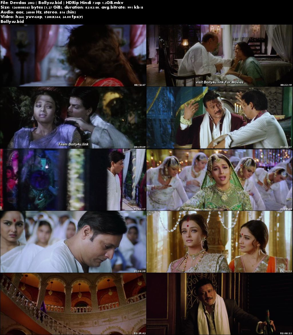 Devdas 2002 HDRip 500MB Full Hindi Movie Download 480p