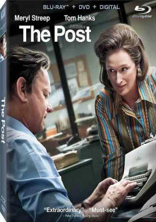 The Post 2017 BRRip 350MB English 480p ESub Watch Online Full Movie Download bolly4u