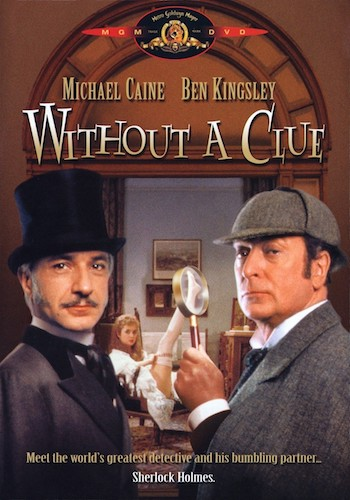 Without A Clue 1988 BRRip 720p Dual Audio Hindi 900MB