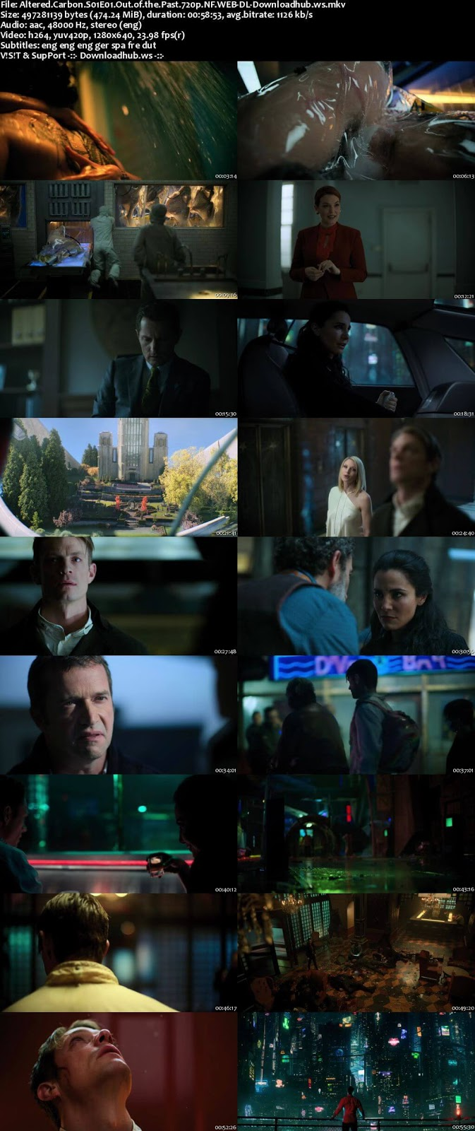 Altered Carbon S01 Complete 720p NF Web-DL MSubs