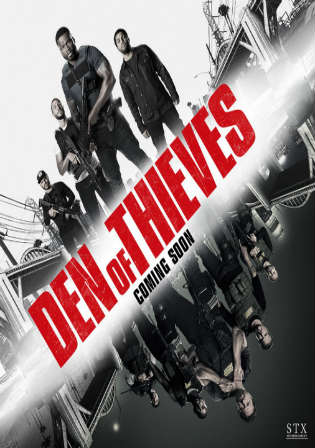Den of Thieves 2018 WEB-DL 400MB English 480p Watch Online Full Movie Download bolly4u
