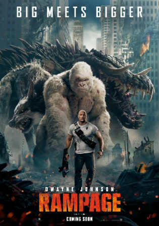 Rampage 2018 HDCAM 750Mb Hindi Dual Audio 720p Watch Online Full Movie Download Worldfree4u 9xmovies