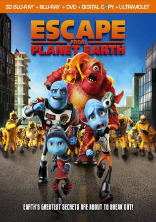 Escape From Planet Earth 2013 BRRip 300MB Hindi Dual Audio 480p