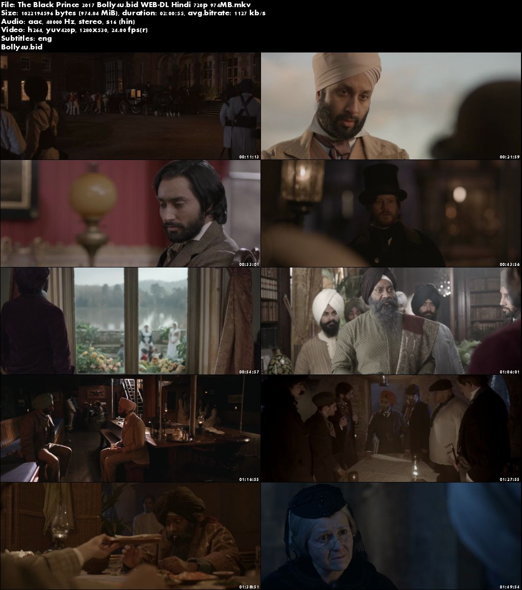 The Black Prince 2017 WEB-DL 950MB Full Hindi Movie Download 720p