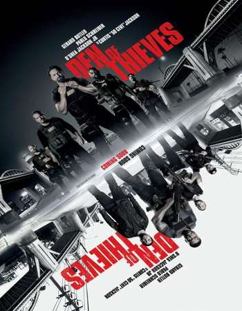 Den of Thieves 2018 English 650MB BRRip 720p HEVC x265 ESubs