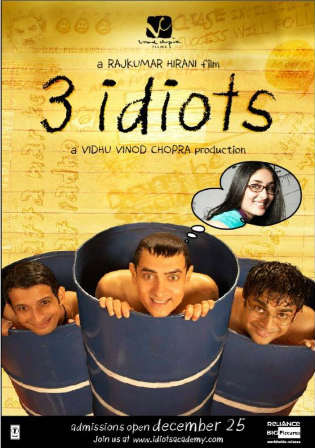3 Idiots 2009 HDRip Full Hindi Movie Download 720p