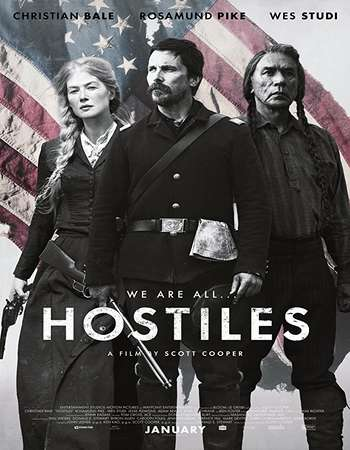 Hostiles 2017 English 600MB BRRip 720p ESubs HEVC