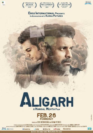 Aligarh 2016 HDRip 350MB Full Hindi Movie Download 480p watch Online Free bolly4u