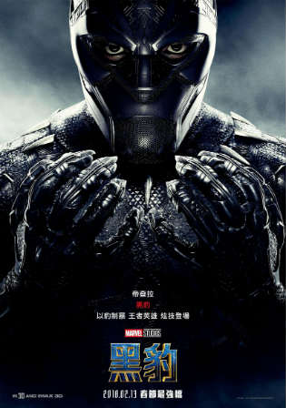 Black Panther 2018 HDTC 950Mb Hindi Dual Audio 720p Watch Online Full Movie Download bolly4u