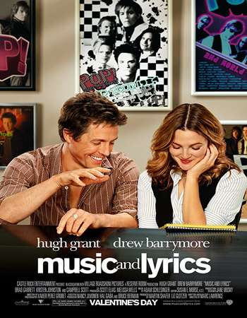 Music and Lyrics 2007 Hindi Dual Audio 450MB BluRay 720p ESubs HEVC