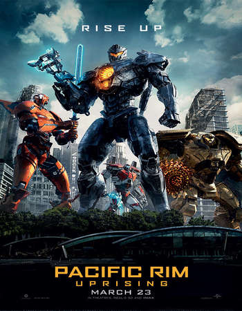 Pacific Rim Uprising 2018 Hindi Dual Audio 500MB HC HDRip 720p HEVC