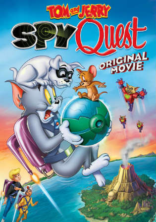 Tom and Jerry Spy Quest 2015 WEB-DL 650MB Hindi Dual Audio 720p Watch Online Full Movie Download bolly4u